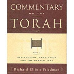 41k1u75rjzl_sl500_aa240_ Richard Elliott Friedman's Commentary on the Torah: A New Look At Ancient Passages