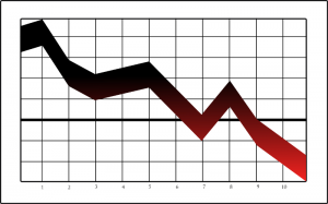 graph_down-300x187 Recent Exodus 'Love Won Out' Turnout Could be Lowest Yet