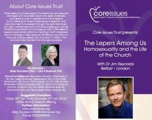 Core_Issues-300x238 The Lepers Among Us: Conference Addresses 'Same-Sex Sin,' Brings NARTH Gay Cure Message to UK