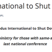 Exodus Shutdown Announcement