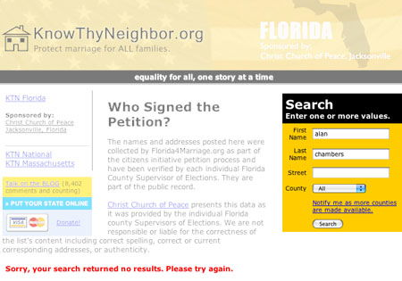 Exodus_FL_marriage Exodus Staff And the Florida Marriage Amendment Petition