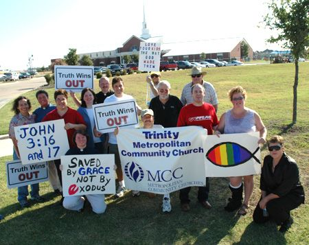 TWO_dallas_1 Photos - Truth Wins Out Protest At Dallas Exgay Conference