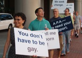 exgay_APA_protest1_orig Infographic: Exgay Groups Pose As Moderates for APA Protest