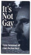 "itsnotgay Video ""It's Not Gay"" Only Serves To Further Reinforce Idea Of ""Exgay For Pay"""