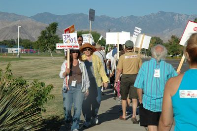 protest3 Love Won Out/Palm Springs Protest - Dan's Account And Photos