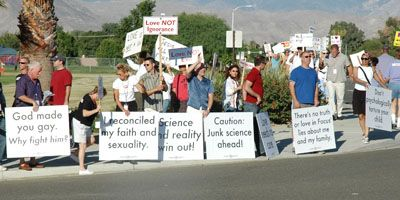 protest5 Love Won Out/Palm Springs Protest - Dan's Account And Photos