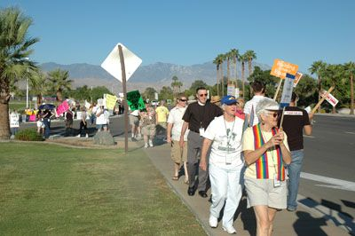 protest6 Love Won Out/Palm Springs Protest - Dan's Account And Photos