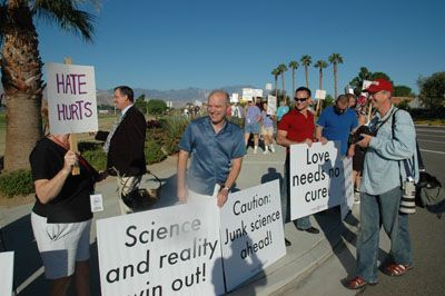 protest7 Love Won Out/Palm Springs Protest - Dan's Account And Photos